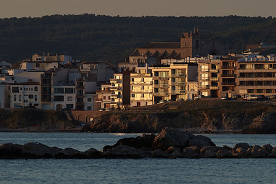 Early morning view on L'Escala
