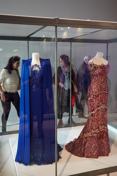 The coronation dresses of queen Maxima