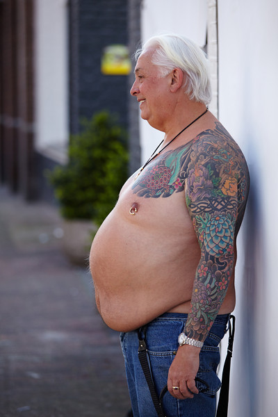 A big tattoo