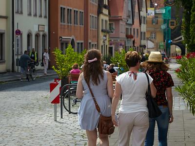 A walk in Rothenburg ob der Tauber