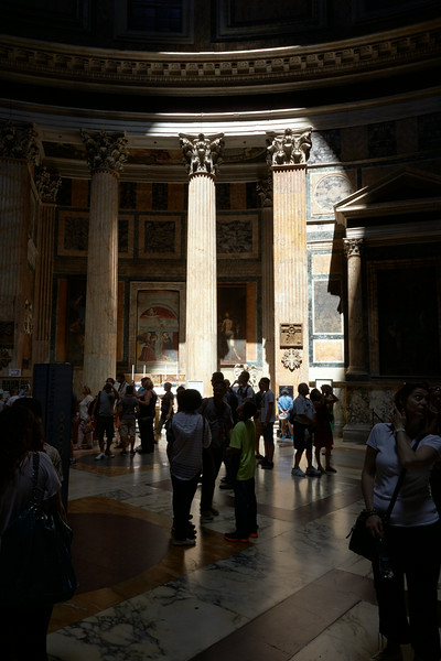 In the Pantheon