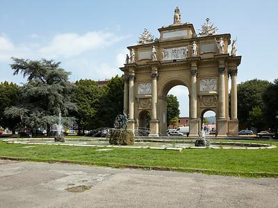 Piazza della Liberta in Firenze