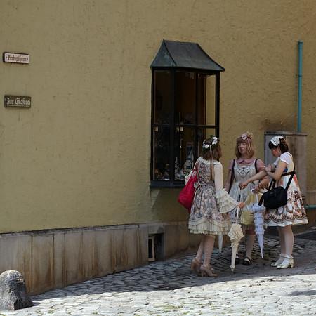 Doll like fashion girls