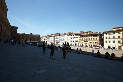 View from Palazzo Piti