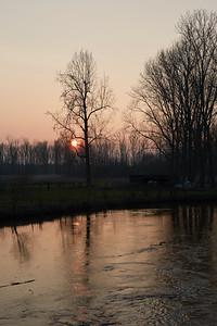 2016-03 Sunset in Kasteren