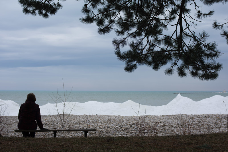 Had a wonderful getaway weekend with Cathy at Benmiller Inn and Spa, near Goderich. After supper, we went for a cold walk along the Lake Huron shoreline.... Waiting for Spring.