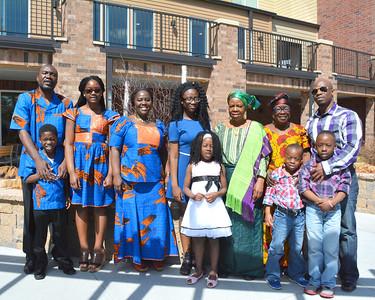 Duwar Kollie and Family Photos