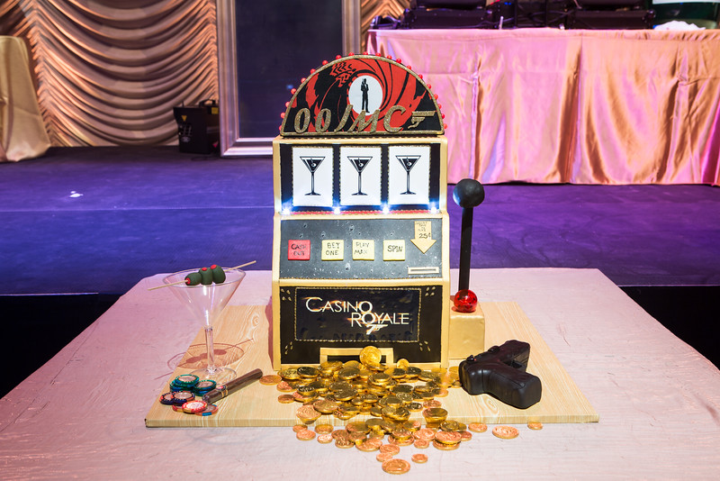 "Tammy Kassarda ""Cakes by Kassarda"" really WOWed us all with her CASINO ROYALE cake.   What detail.  I cannot remember when I did not know her husband, Bobby Pilch."