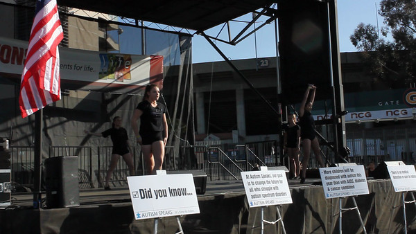 2013 LA Autism Walk - Pasadena Rose Bowl - Pasadena, CA - Video by Azia of Step and Repeat interviews and event b-roll