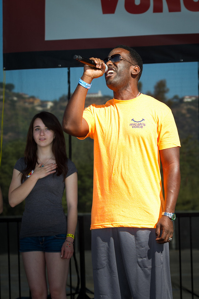 Singer Shawn Stockman at the 2013 Los Angeles Walk Now for Autism Speaks Photo by Efong Chiu