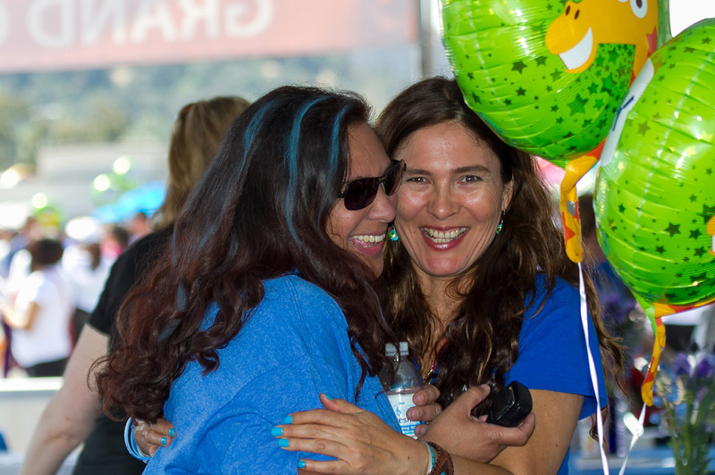 Senior Director of Field Development for Southern California Autism Speaks Pam Eisenberg and Navah Paskowitz at the 2013 Los Angeles Walk Now for Autism Speaks Photo by Efong Chiu