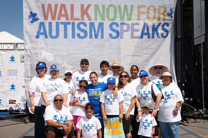 2013 Los Angeles Walk Now for Autism Speaks Photo by Efong Chiu