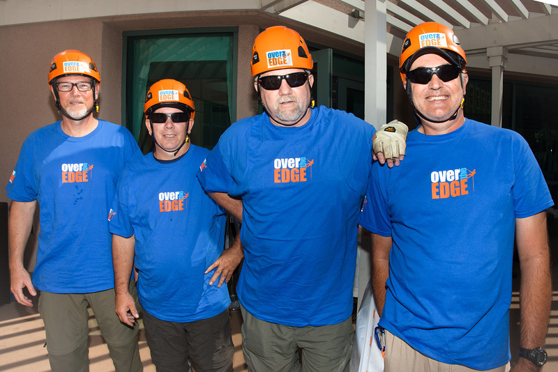 """""""Over the Edge"""" Rappelling with Autism Speaks - Renaissance Airport Hotel - Los Angeles CA - by Takahiro Watanbe"""