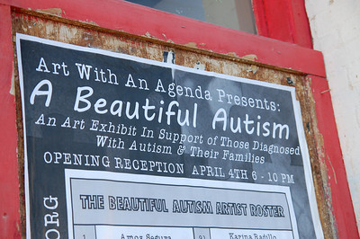Fullerton Cares 'The Beautiful Autism' - Egan Gallery - Fullerton CA