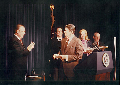 NPD - OC Historical Photo with Ronald Reagan