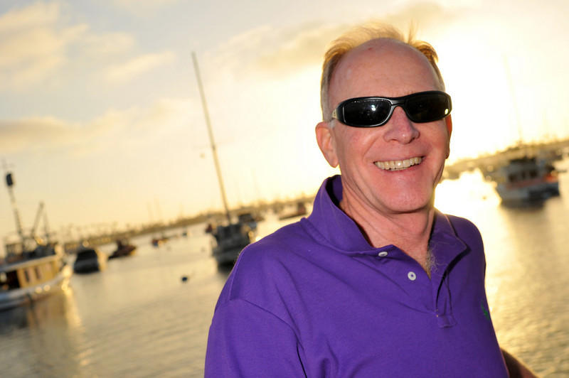 Photo: David Thorne of Wright, Finlay & Zak, LLP of newport beach enjoys the sunset on the harbor cruise, Thursday June 17, 2010, in Newport Beach. A group of 18 legal administrators from Orange County law firms enjoyed scenic views of Newport Beach Harbor during the networking event hosted by the Orange County Chapter of the Association of Legal Administrators. Photo by Jess Block/ Current