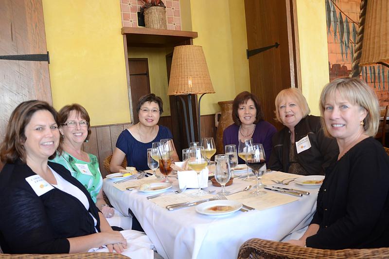 Carolyn France, Kathie Jones, Lynda Taylor, Loretta Vince, Elizabeth Langston and Connie Jedrzejewski