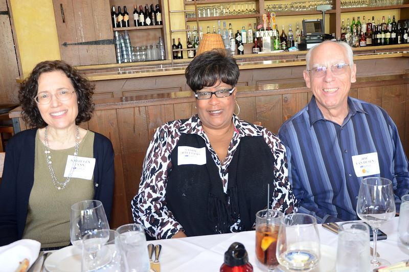 Kathleen Lynn, Sandy Williams and Jim Van Dusen
