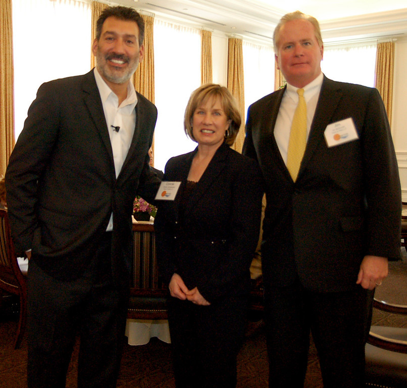 Keynote Speaker David Avrin with Connie Jedrzjewski and Jim McDonald of Fisher and Phillips LLP 2