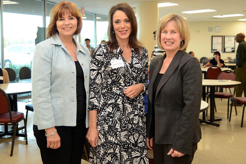 Donna Williams, Nancy Garcia and Connie Jedrzejewski