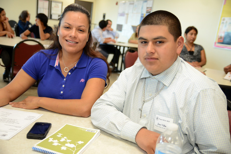 Wright, Finlay & Zak, LLP Project SELF intern Jose Villa with his mother