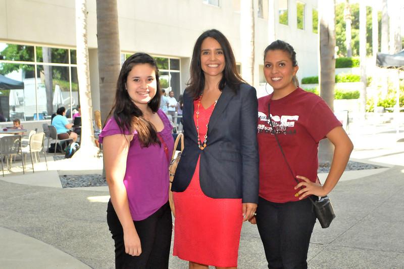 Talia Aparicio, Gaby Fischer and Emily De La Torre