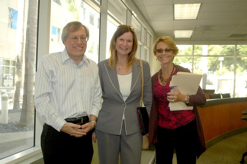 Dean Erwin Chemerinsky, Gail Ballinger and Pamela Kuckelman