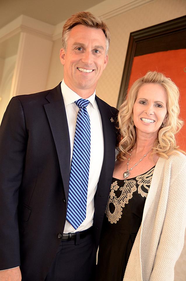 Collie James, IV, and Karen Ruan