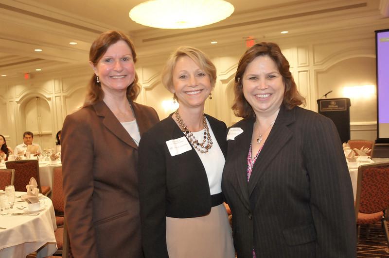 Gail Ballinger, Pam Kuckelman and Carolyn France