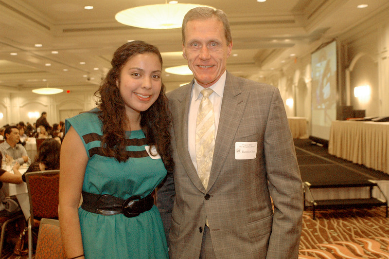 Stephanie Hernandez and Dennis Ghan