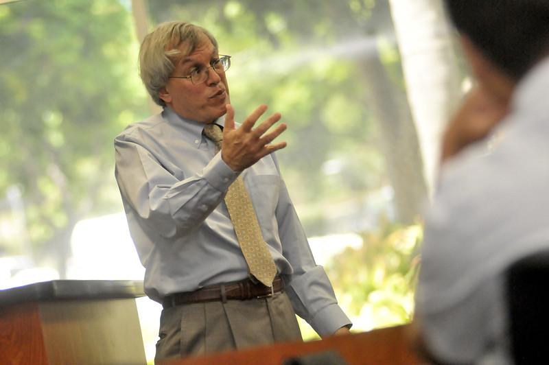 Founding Dean of UCI School of Law Erwin Chemerinsky