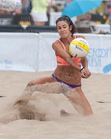 AVP Manhattan Beach Open, 15 Aug 2014