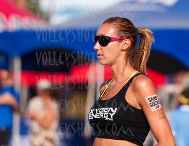 AVP Pro Beach Volleyball, Long Beach, 24 Jul 10