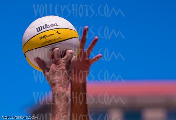 AVP Pro Beach Volleyball, Long Beach, 25 Jul 10