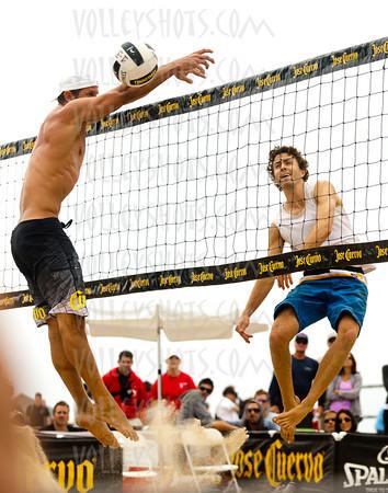 Jose Cuervo Hermosa Beach Open, Sep 2011, Day 2