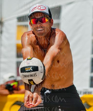 Jose Cuervo Manhattan Beach Open Pro Beach Volleyball, 28 Aug 2011