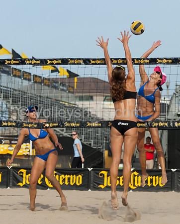 Jose Cuervo Pro Beach Volleyball, Huntington Beach Open, 22 Sep 2012
