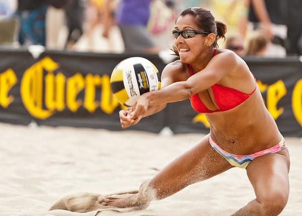 Jose Cuervo Pro Beach Volleyball, Manhattan Beach Open, 24 Aug 2012