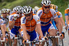 Rabobank seem to be fueling in preparation for Bonny Doon.