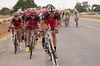 After the peloton regroups after a minor crash, Lance Armstrong unleashes a powerful attack.