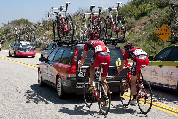 ...and has delayed some BMC riders as well.