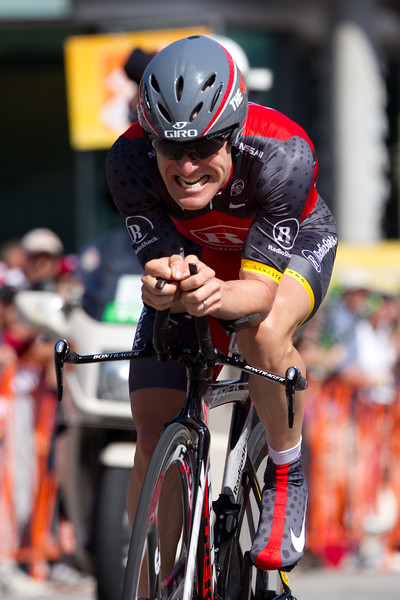 Levi was 4th on the day, unable to secure his fourth Tour of California victory. He was 33 seconds off the winning time.