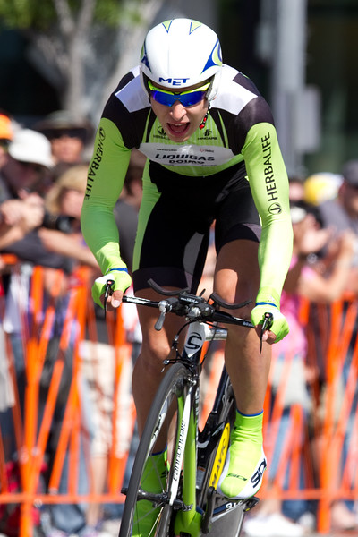 """Peter Sagan couldn't take another stage today, he did slot in at 17th, a solid ride for the 20 year old; 1'47"""" back."""