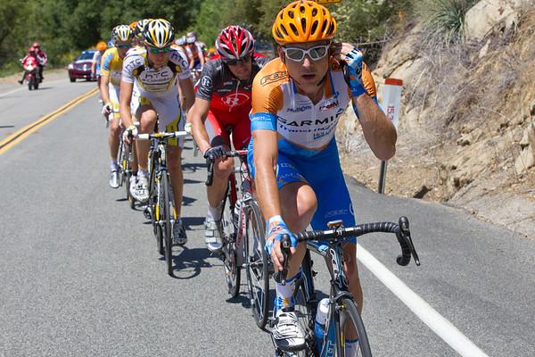 The Garmin marching orders on the day were to go hard and to take it to the peloton.