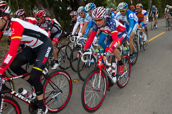Ben King flies the Stars and Stripes for RadioShack as the current US National Road Champion.