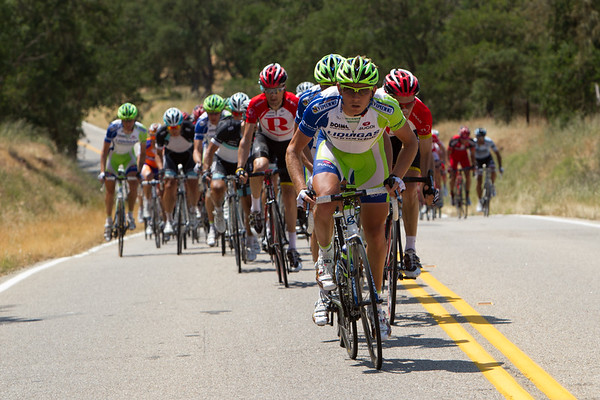 Liquigas has turned up the pace, the want to add to Sagan's lead in the sprinters competition.