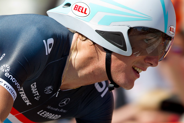 Andy Schleck was only able to take 38th - 2:15 off the pace.