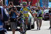 Sagan's wheelie says it all - he has taken his third straight stage!