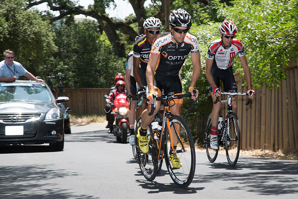 As the escape begins the Mount Diablo climb, they still have about four minutes in hand...