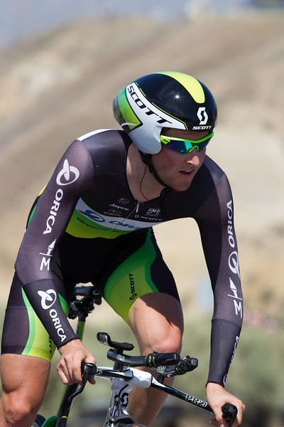 Luke Durbridge was good for 8th today - the best u23 rider at 1:01 off the fastest time.